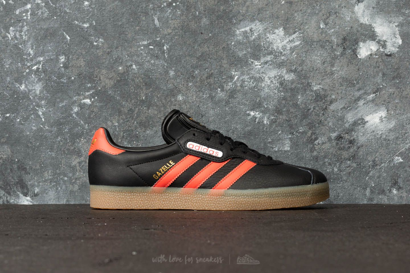 hot sales 395c5 ed963 adidas Gazelle Super Core Black Trace Scarlet Ftw White at a great price £