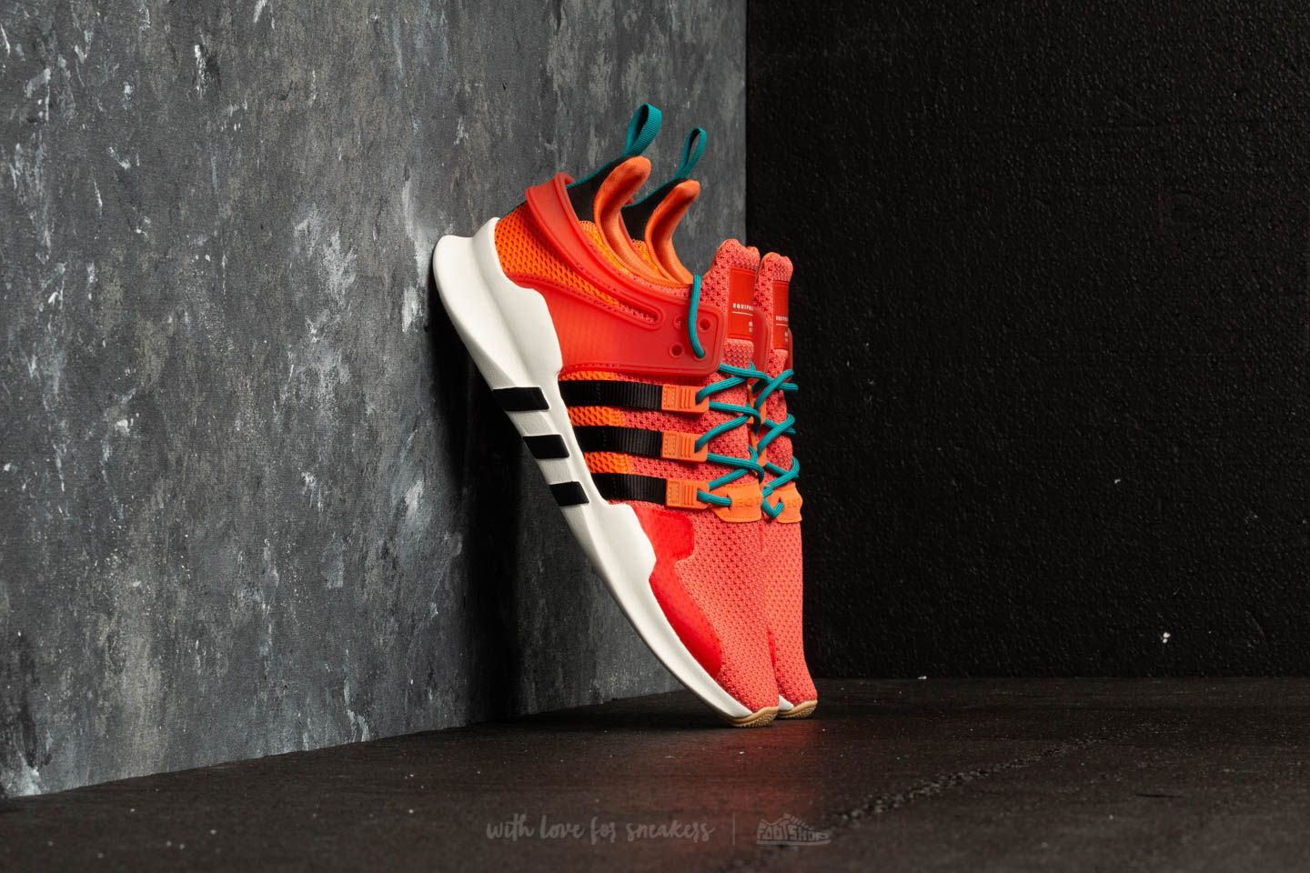 pretty nice be5d7 12b2e adidas EQT Support ADV Summer Trace Orange Running White Gum at a great  price