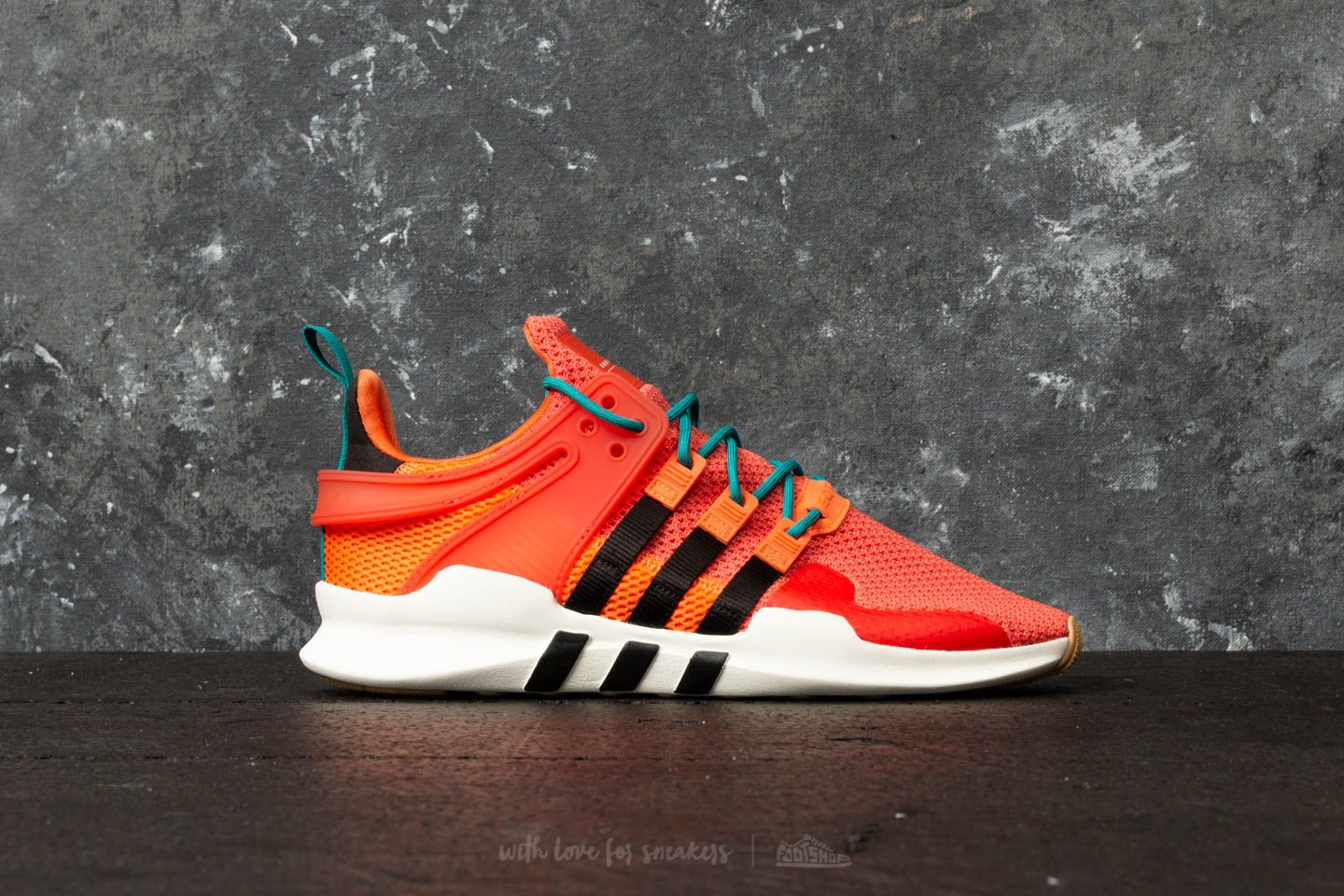 61385fd698ab adidas EQT Support ADV Summer Trace Orange  Running White  Gum at a great  price