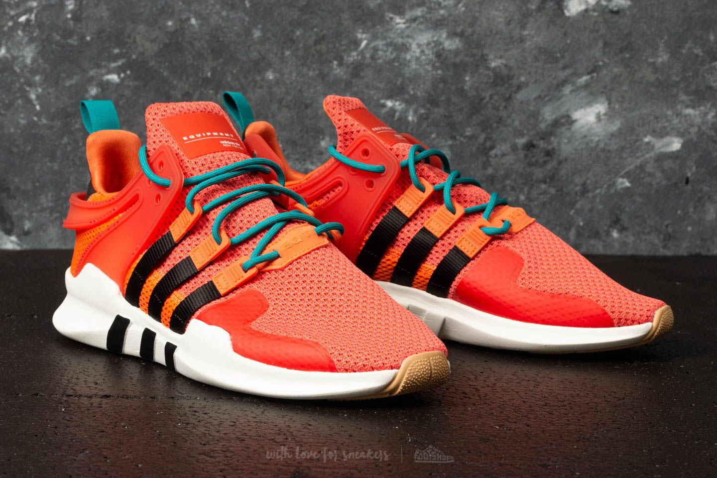 adidas EQT Support ADV Summer Trace Orange  Running White  Gum at a great  price 73c0f4be385b