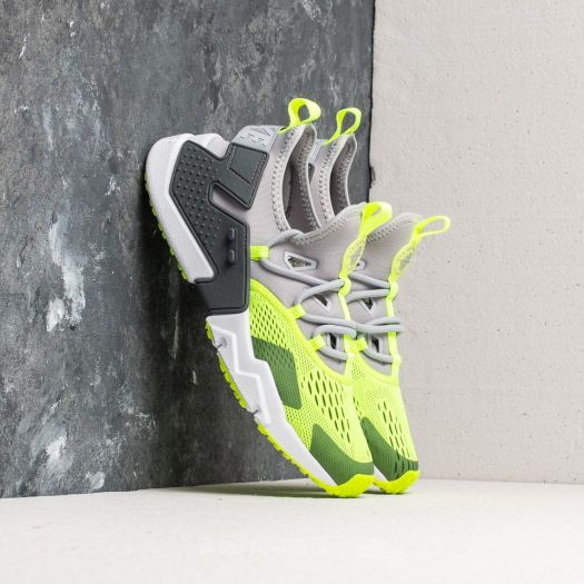 b8c1faeea8a3 Nike Air Huarache Drift Breathe Wolf Grey  Volt-Dark Grey-White