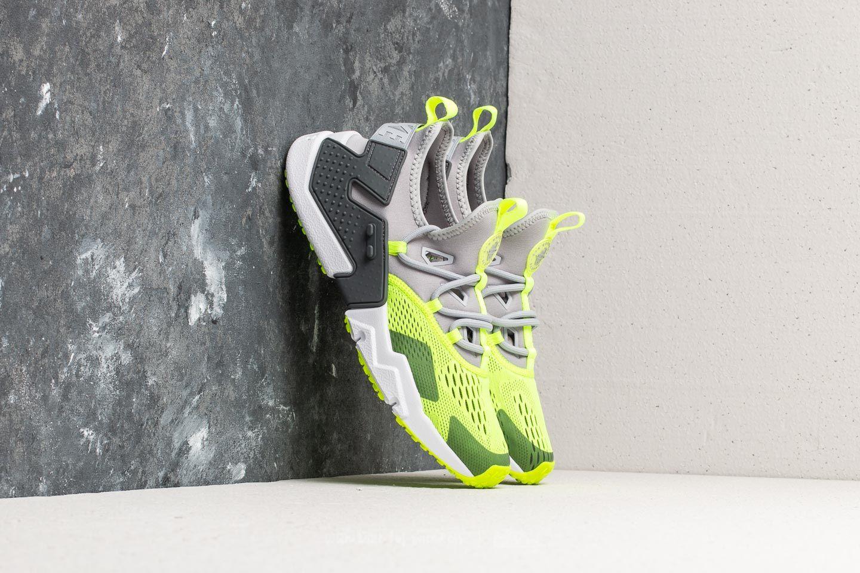 Nike Air Huarache Drift Breathe Wolf Grey/ Volt-Dark Grey-White