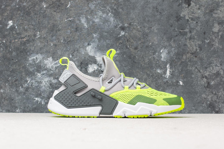df2e15eeda25 Nike Air Huarache Drift Breathe Wolf Grey  Volt-Dark Grey-White at a
