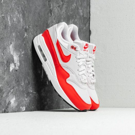 Nike Air Max 1 Vast GreyHabanero Red, Womens Nike Air Max 1 Olympus MD  Olympus MD