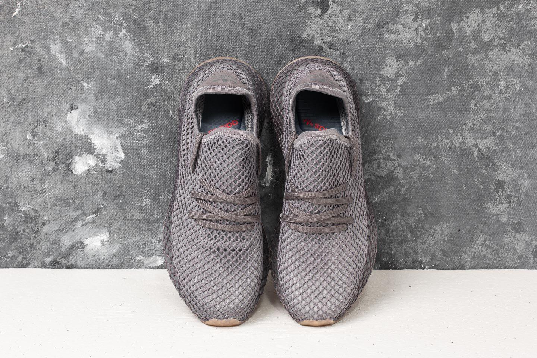 hot sale online 044cd 4bd73 adidas Deerupt Runner Grey Three Grey Four Ftwr White la un preț excelent  458