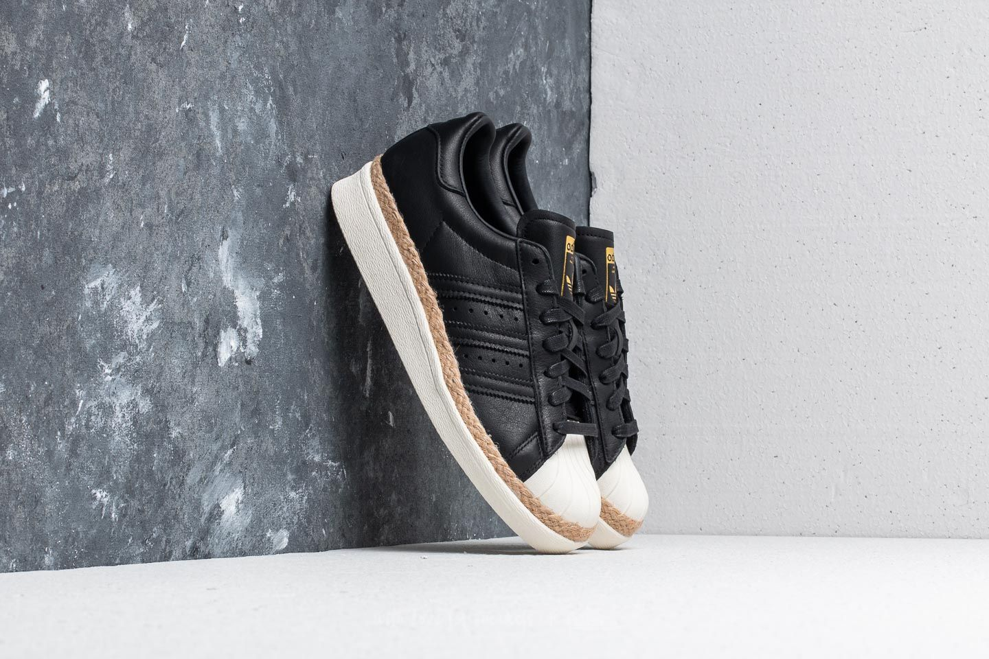 buy online 23182 931d1 adidas Superstar 80s New Bold W Core Black/ Core Black/ Off ...