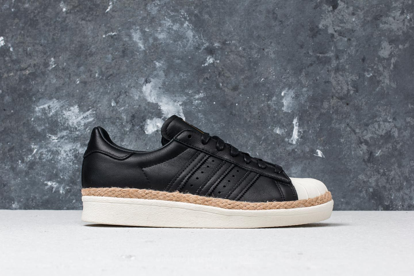 promo code 7fd82 0dd5a adidas Superstar 80s New Bold W Core Black  Core Black  Off White at a