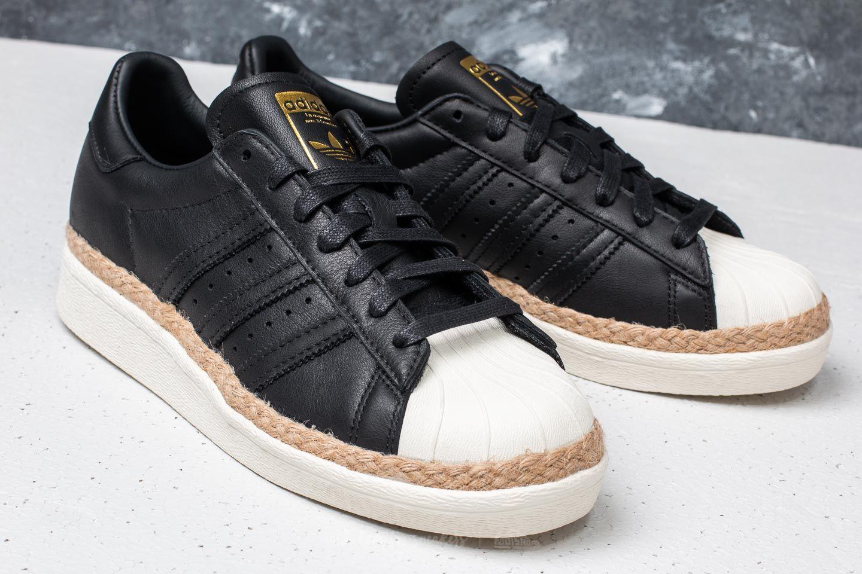 promo code de15b dc740 adidas Superstar 80s New Bold W Core Black  Core Black  Off White at a