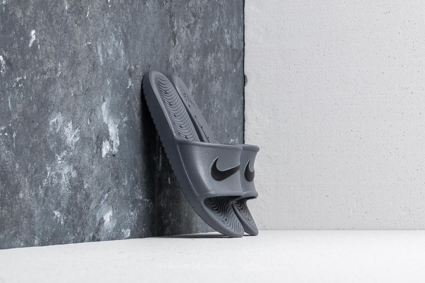 Männer Nike Kawa Shower Dark Grey/ Black