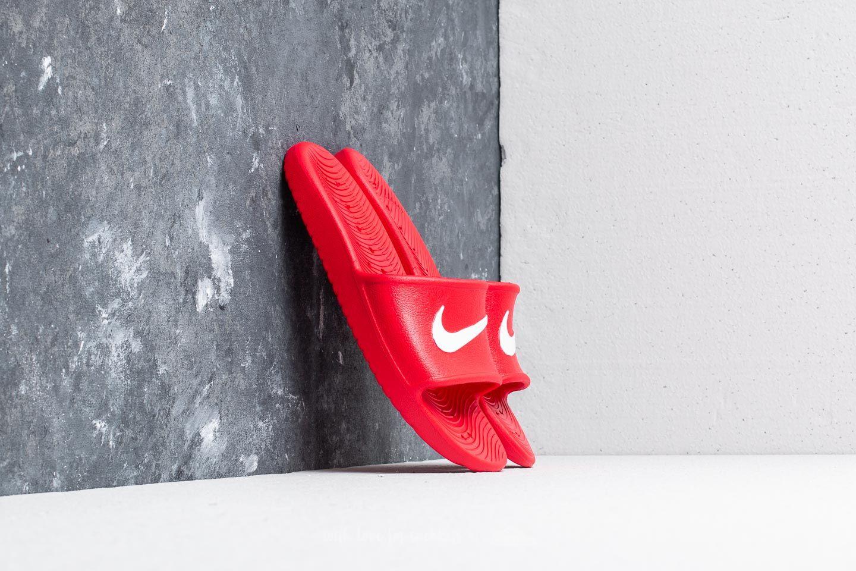 2d7c8b93bf2 Nike Kawa Shower University Red  White