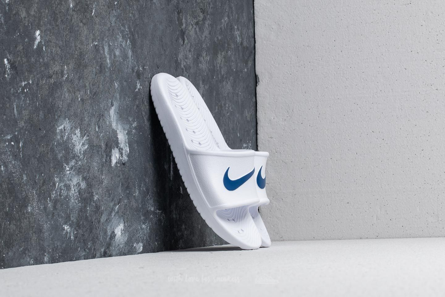 Nike Kawa Shower White/ Blue Moon
