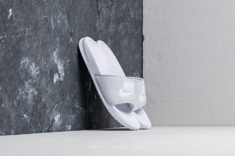 Nike Benassi JDI Pastel QS WMNS Pure Platinum/ White za skvělou cenu 430 Kč koupíte na Footshop.cz