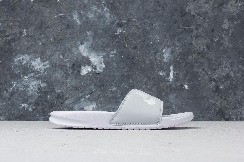 sale retailer 618f7 4a6d6 Nike Benassi JDI Pastel QS WMNS Pure Platinum/ White at a great price 23 €