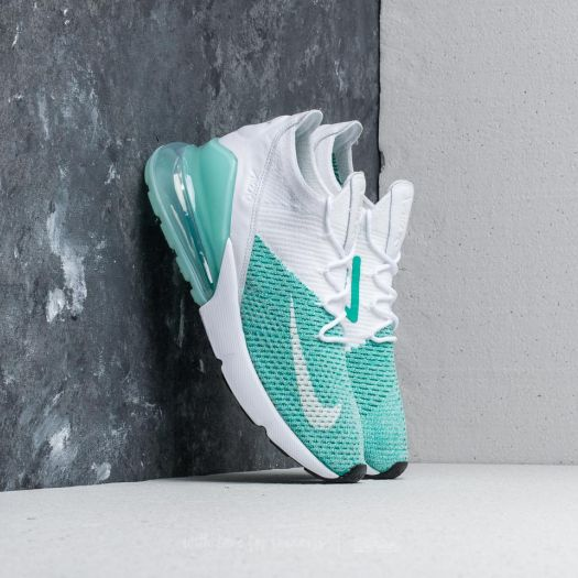 Nike W Air Max 270 Flyknit Igloo White Igloo | Footshop