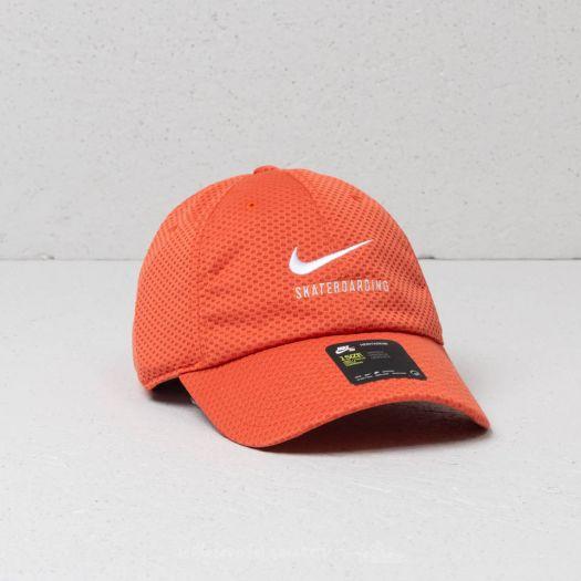 225f87494643b Nike SB Swoosh Mesh Heritage86 Cap Vintage Coral  White
