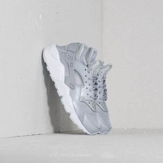 hot product uk cheap sale cute Nike Air Huarache Run Wmns Wolf Grey/ Pure Platinum-White ...