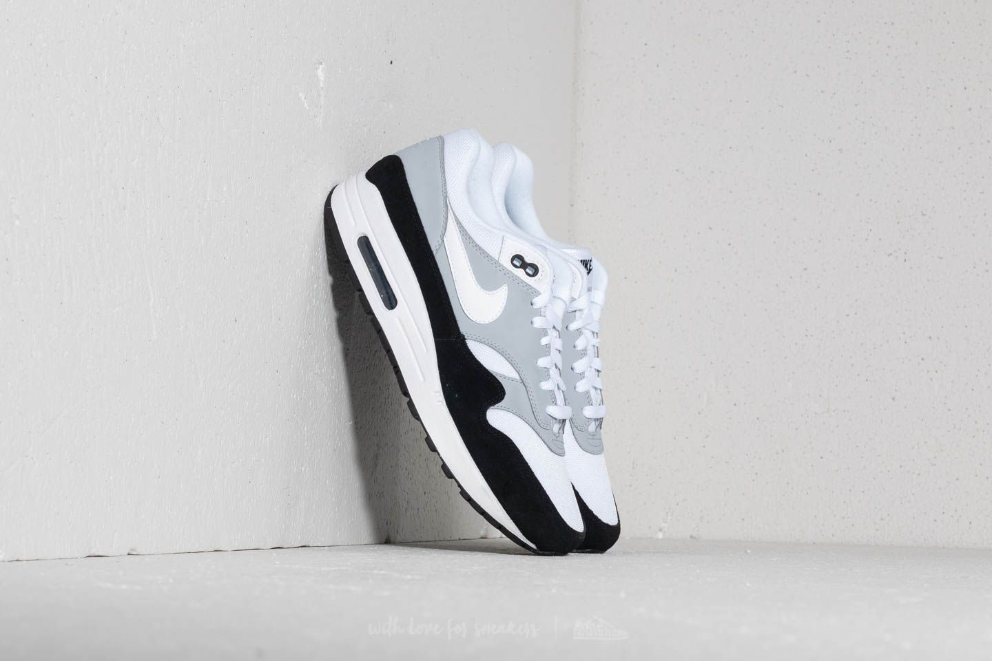 Nike Air Max 1 Wolf Grey/ White-Black
