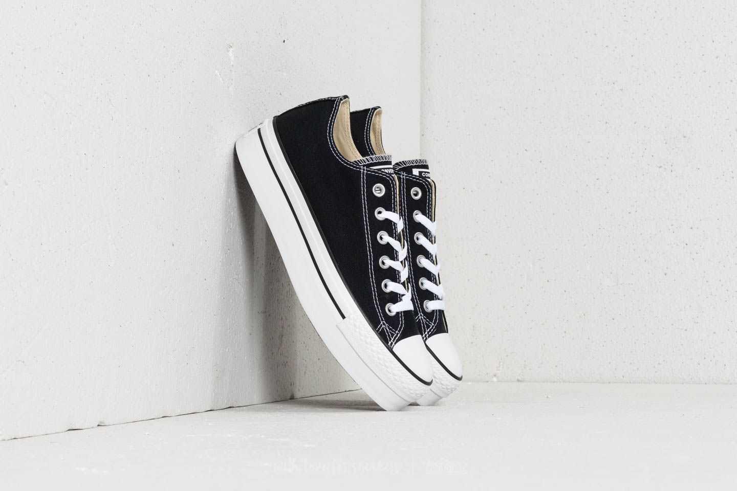 Converse Chuck Taylor All Star Platform Ox Black  5ba702735