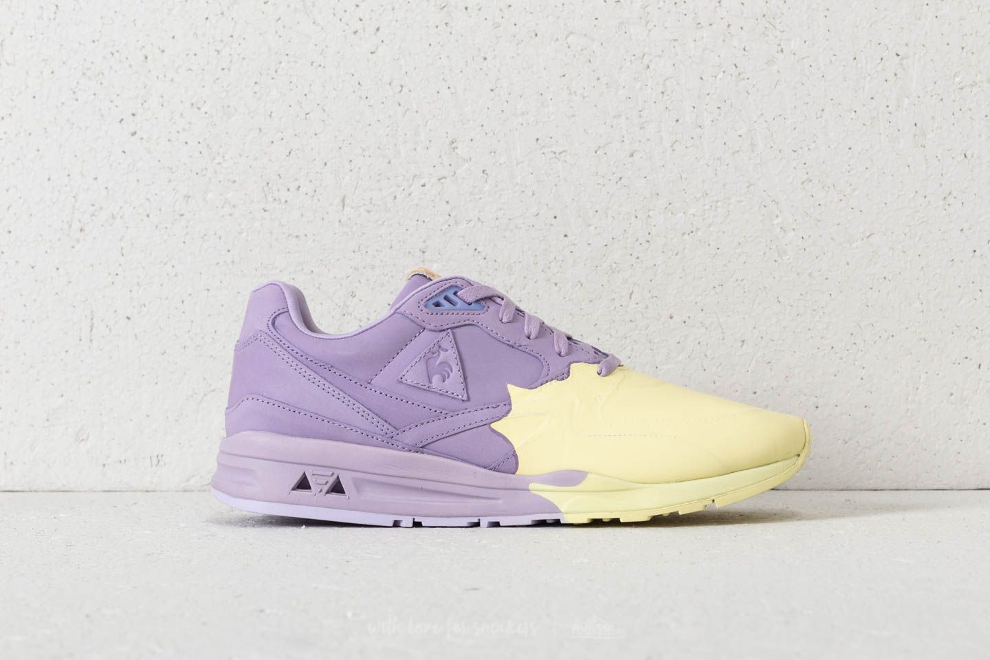 8303597c2f6 le coq sportif LCS R800 S Nubuck Orchid Tint/ Wax Yellow at a great price