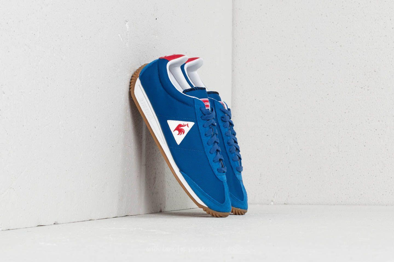 Pánské tenisky a boty le coq sportif Quartz Nylon/ Suede Classic Blue