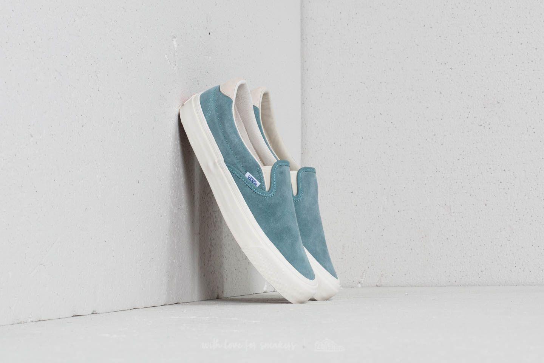 Vans OG Slip-On 59 LX (Suede) Smoke Blue/ Marshm