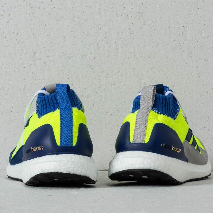 adidas Consortium Ultraboost Mid Solar Yellow Hi Res Blue