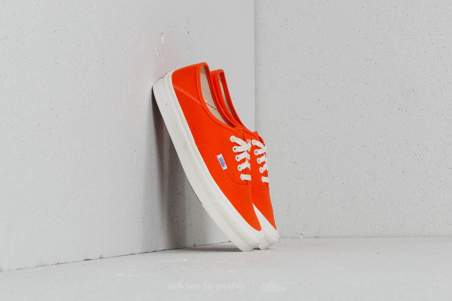 Vans OG Style 43 LX (Canvas) Red Orange Marsh | Footshop