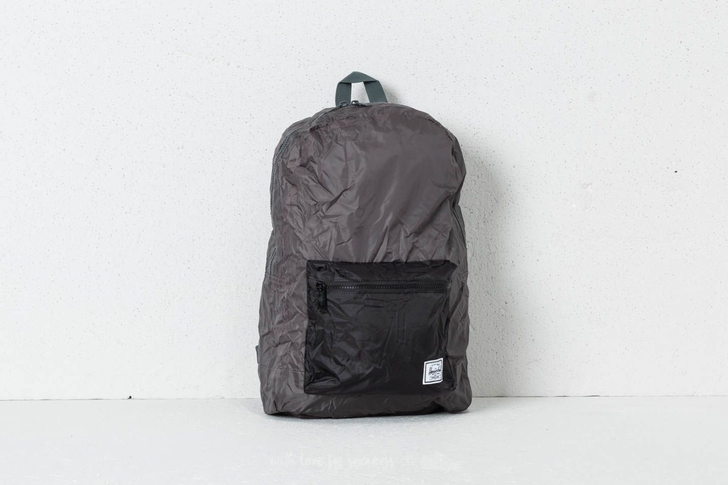 b492878be92a Herschel Supply Co. Packable Daypack Dark Shadow  Black