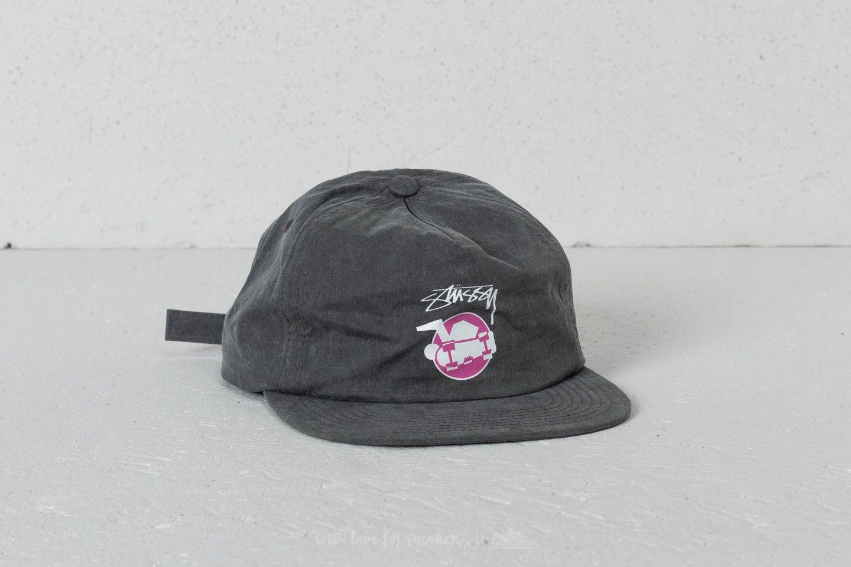 4d86d31d3f2 Stüssy Pigment Dyed Strapback Cap Black