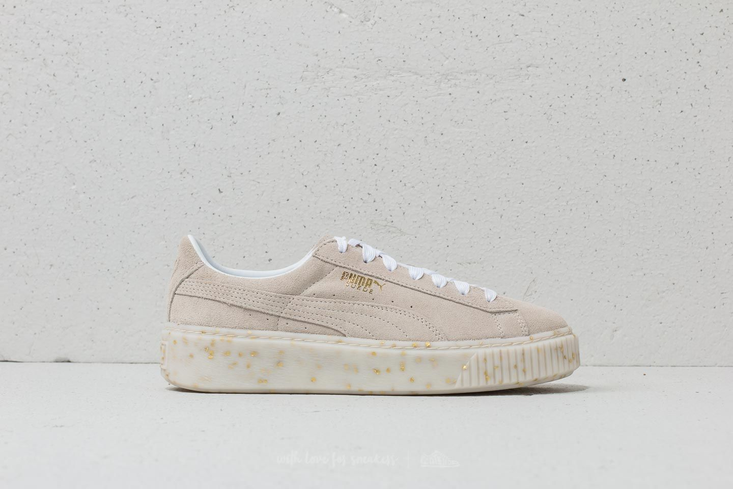 Puma Suede Platform Celebrate Wn s Puma White  Puma Team Gold at a great  price 66 cd2412b8e33bf