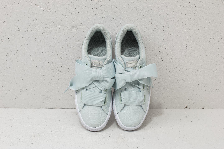 f71a8aa2 Puma Basket Heart Canvas Wn's Blue Flower/ White/ Silver | Footshop