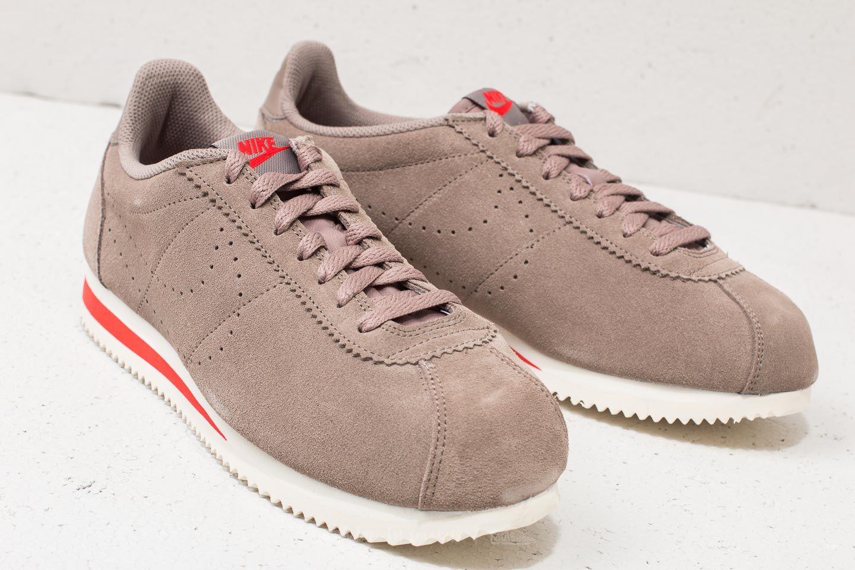 the best attitude 7e2bd 8e36a Nike Classic Cortez Suede Sepia Stone/ Sepia Stone | Footshop