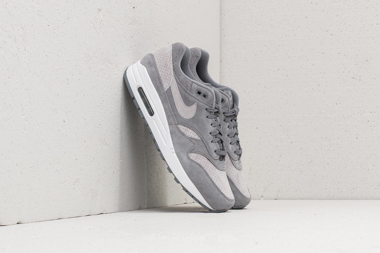 e13663dd3423 Nike Air Max 1 Premium Cool Grey  Wolf Grey-White