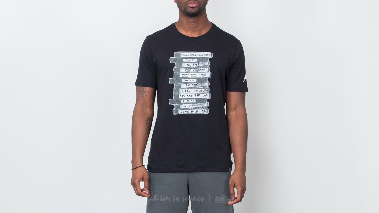 Jordan Sportswear GTX Last Shot Tee Black at a great price 40 € buy at  Footshop 31fb59f5e1