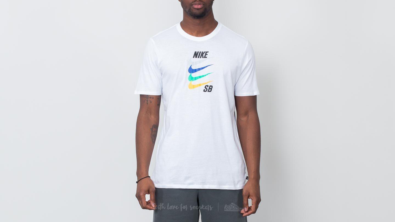 volumen grande comprar auténtico sin impuesto de venta Camisetas Nike SB Futura Tee White | Footshop