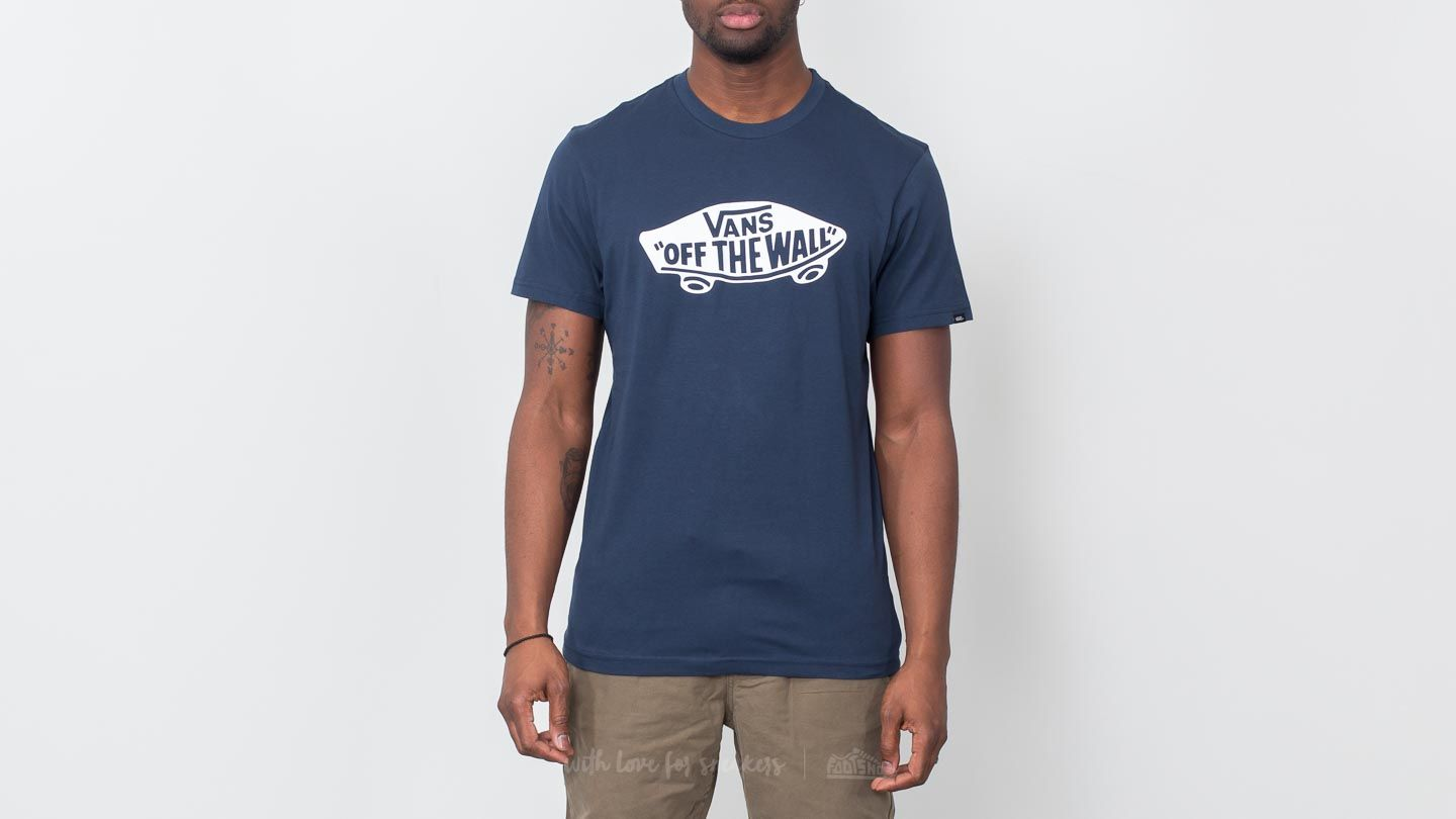 Camisetas Vans Off The Wall Tee Dress Blues-White