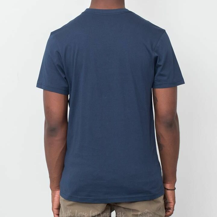 Vans Off The Wall Tee Dress Blues-White, Blue