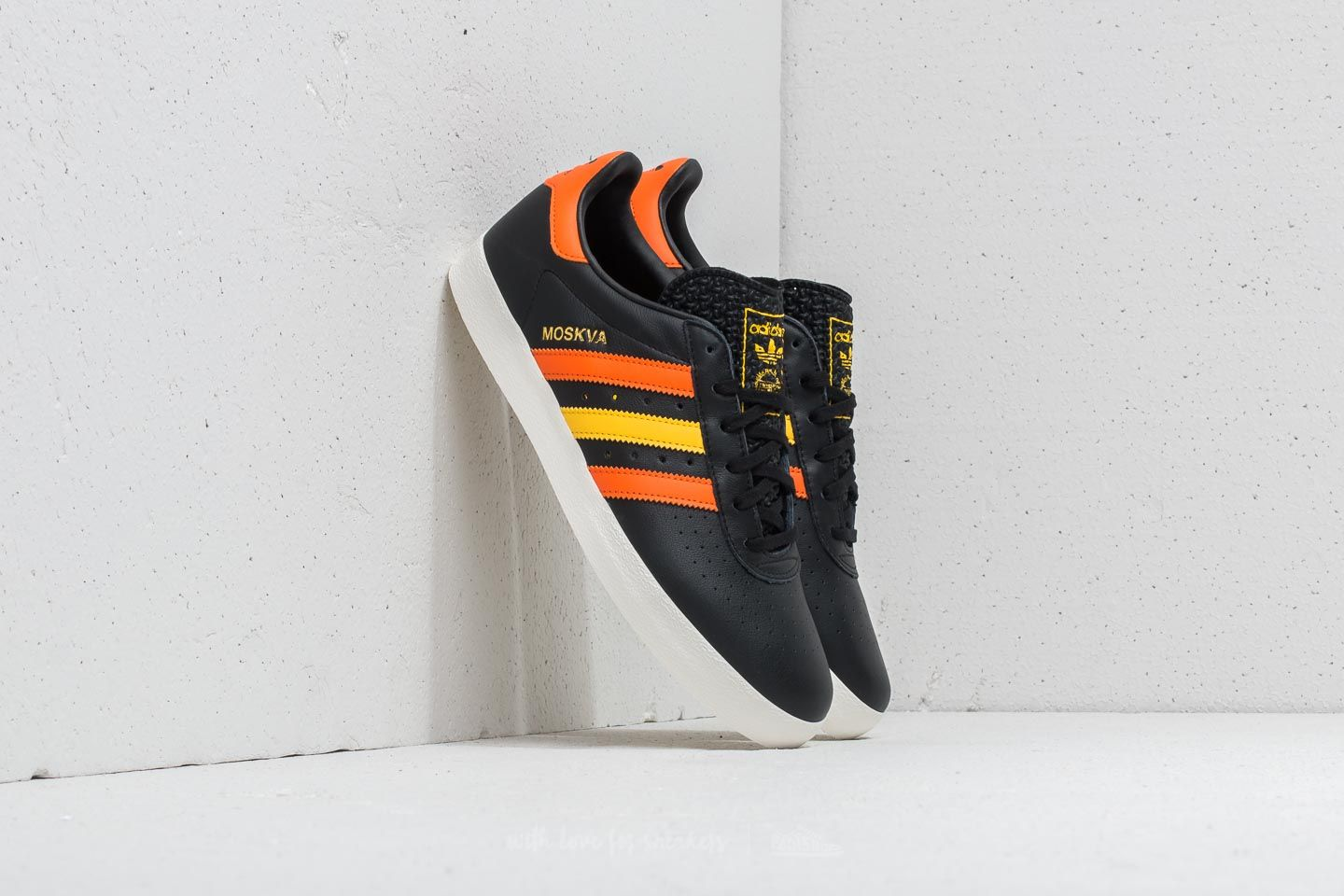 adidas 350 Core Black/ Orange/ EQT Yellow
