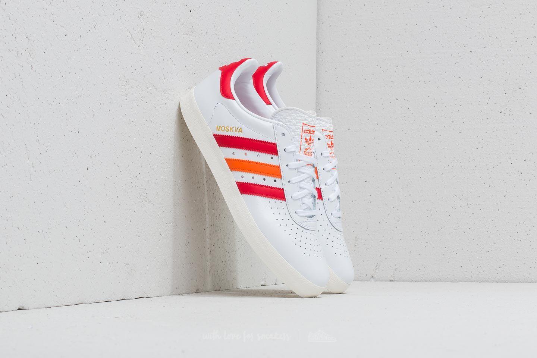 adidas 350 FT White/ Scarlet Red/ Orange