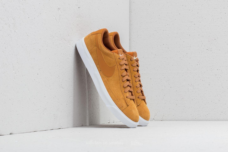 newest dbc01 823a6 Nike Blazer Low Suede Desert Ochre  Desert Ochre-Sail za skvělou cenu 2 390