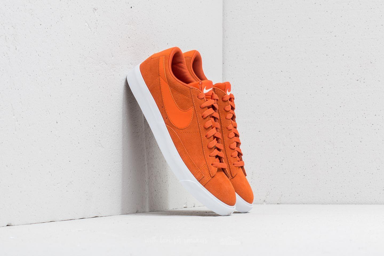 Nike Blazer Low Suede Campfire Orange