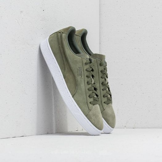 Puma Suede Classic Exposed Seams shoes olive