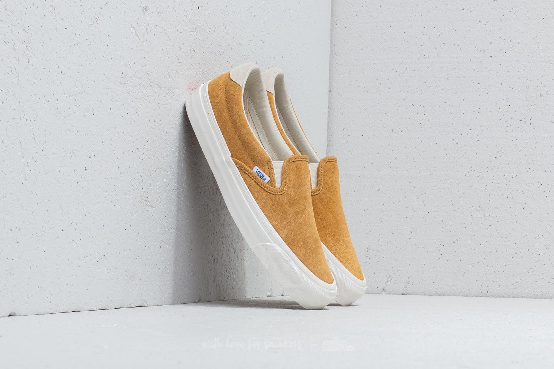 736f357976 Vans OG Slip-On 59 LX (Suede) Honey Mustard  Marshmallow