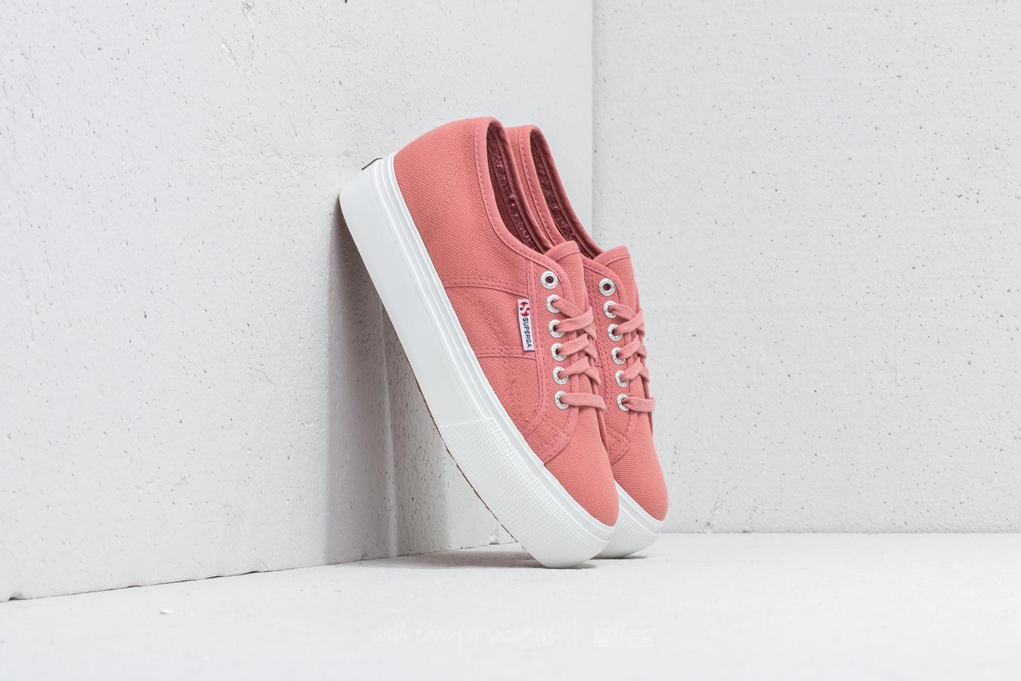 Superga 2790 Acot W Linea Up And Down Dusty Rose