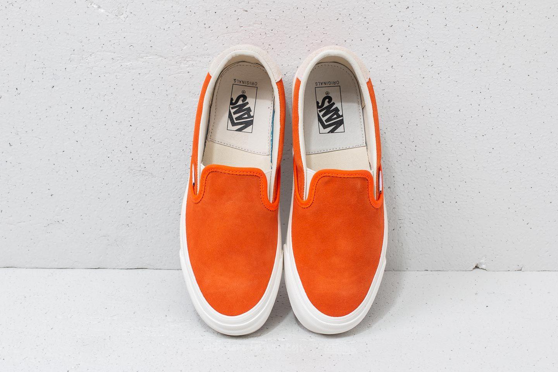 f54e64426f0 Vans OG Slip-On 59 LX (Suede) Red Orange  Marshm at a
