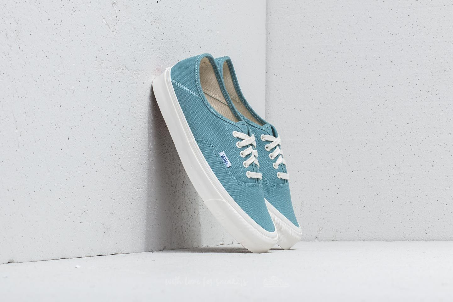 Vans OG Style 43 LX (Canvas) Smoke Blue Marsh | Footshop