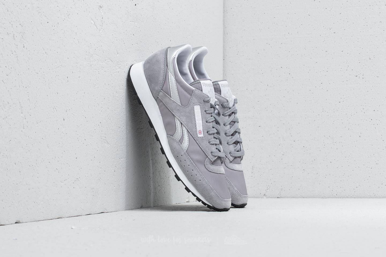 bf6b02e49988e Reebok Classic 83 Cool Shadow  White  Silver