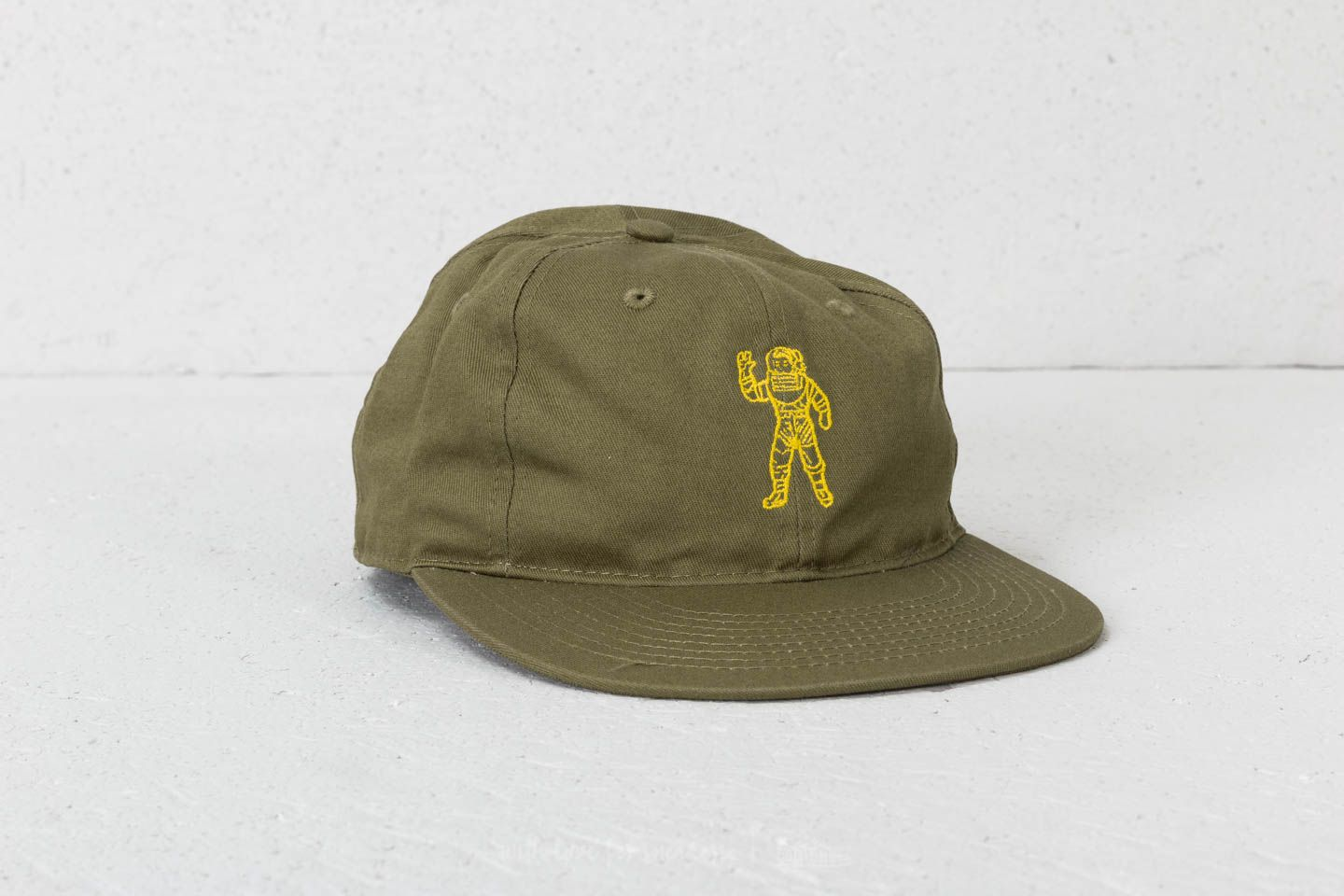Billionaire Boys Club Standing Astronaut 6 Panel Cap Olive