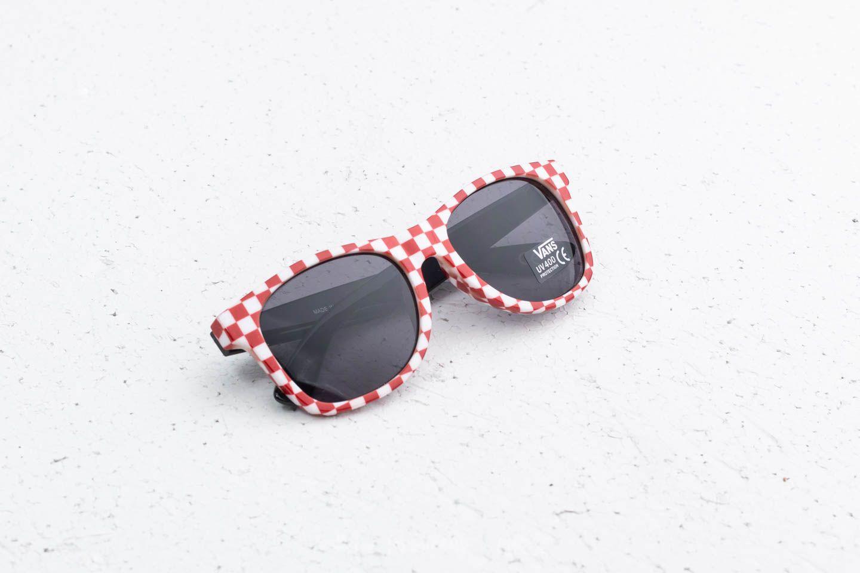 Vans Spicoli 4 Shade Sunglasses Red-White Check  610190a1599