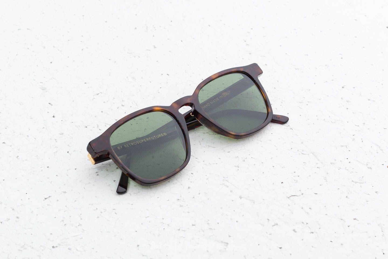save off 31656 0c899 RETROSUPERFUTURE Unico 3627 Sunglasses Green   Footshop